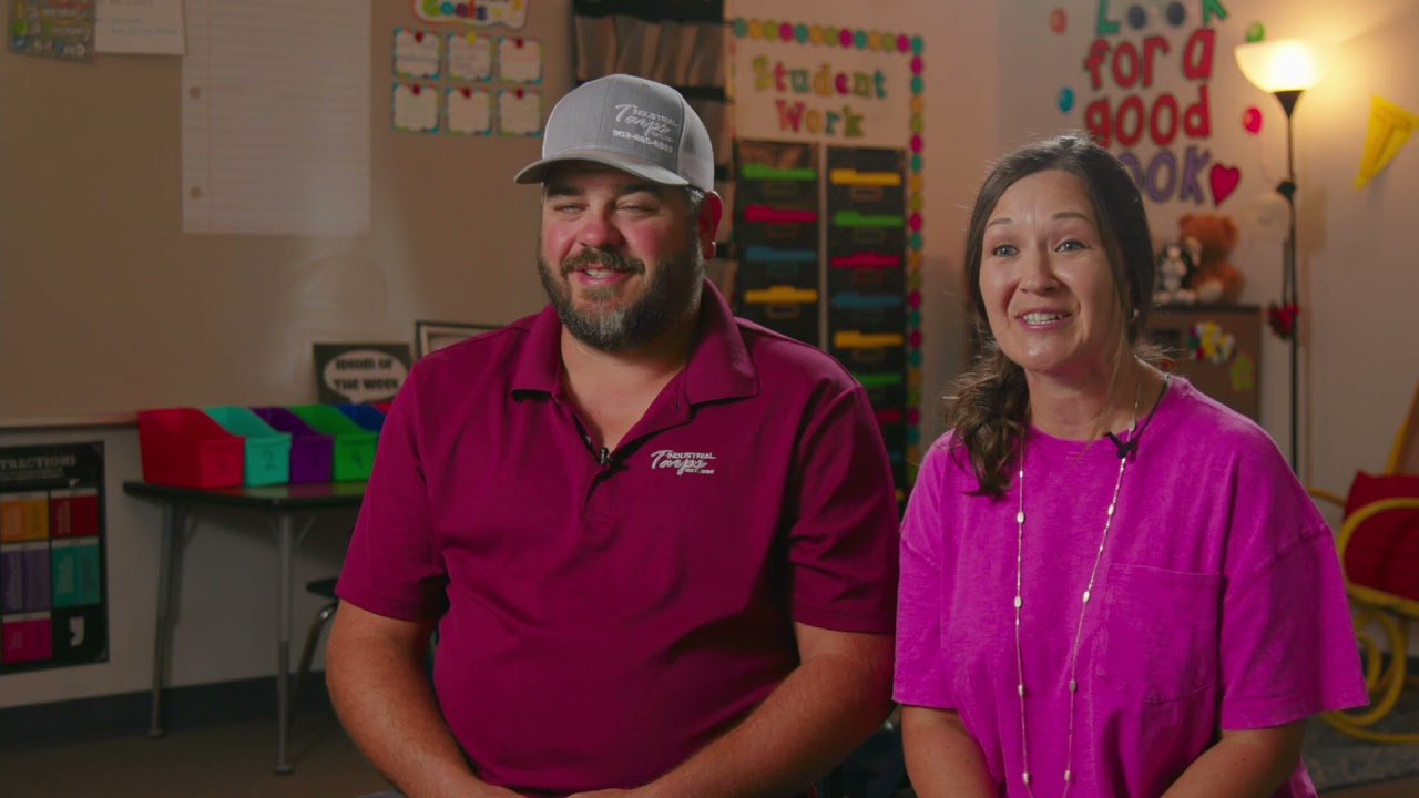 Colby & Erin testimony of the power of defined benefits saving their family