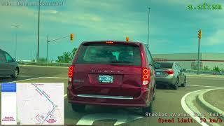 Full G (Highway, G2 Exit) Driving Road Test Route in Brampton Ontario Canada 4K