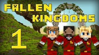 Fallen Kingdoms : Frigiel, Zelvac, Playfan | Jour 1 - Minecraft