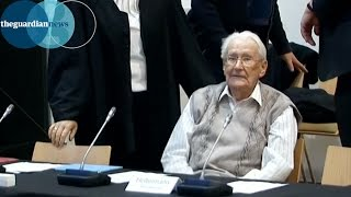 Former Auschwitz guard goes on trial in Germany