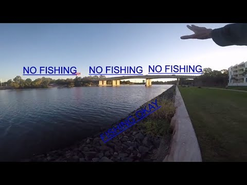 Sydney Fishing Tips: Lure Choice Why? You Can't Fish There But You Can Fish Here.