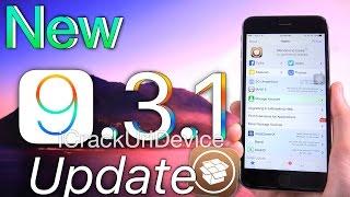 iOS 9.3.1 Jailbreak UPDATE! Pangu, TaiG & iOS 9.3.1 Release