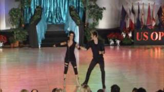 US Open Swing Dance Championships 2009 - Pete Green and Sarah Breck