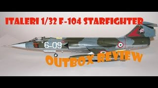 "AlexModelling ""Outbox review of 1 32 Italeri F104 G.S Starfighter"""