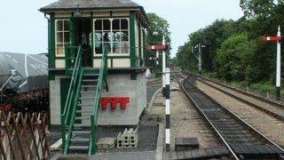 NNR Holt Signal Box