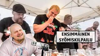 Julkaisemattomat Ruokahaasteet | Ensimmäinen Syömiskilpailu!