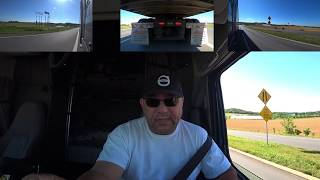 May 31, 2020/244 Trucking. Switching loads with Mark. MT. Crawford Virginia