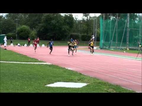 1ère Série 100m Hommes Championnats Genevois