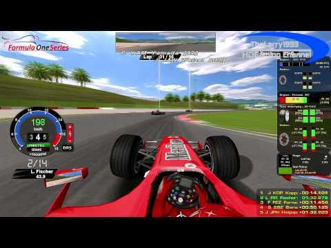 rF1-Simracing-League - OnBoard Malaysian Grand Prix 2006