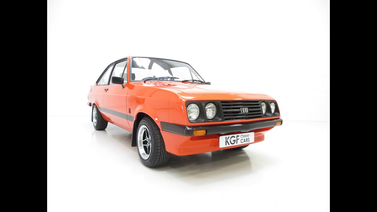 A Very Rare Early Ford Escort Mk2 RS2000 Broadstripe in ...