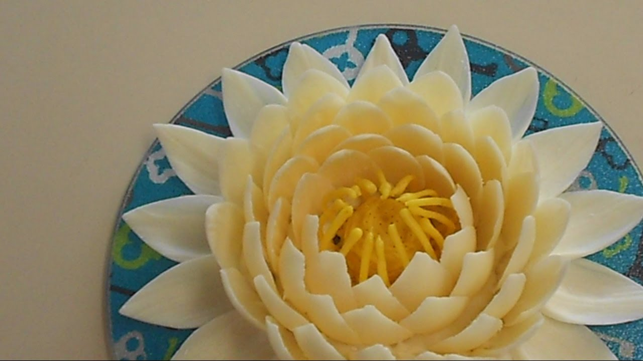 How To Make Chocolate Lotus Flower Youtube