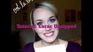 TUTORIAL: Lorac Unzipped Palette Thumbnail