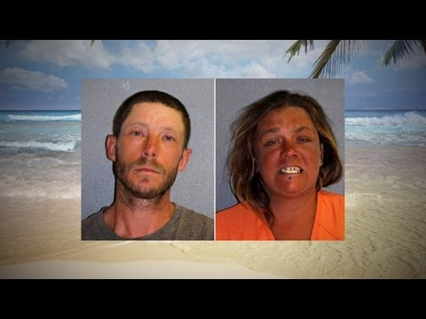 Arrested for sex on a beach