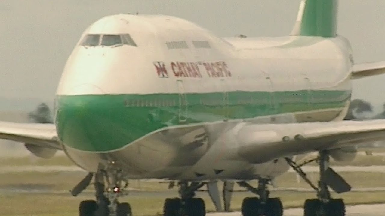 Boeing 747 Airliners At Tullamarine Melbourne 1998 - Part 1