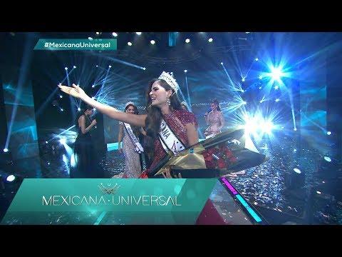 ¡Sofía Aragón de Jalisco es la ganadora de MXU 2019!   Mexicana Universal