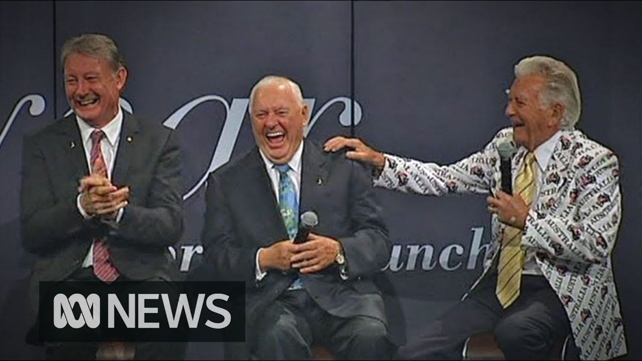 Download Former PM Bob Hawke shares joke which captures 'Australian irreverence' | ABC News