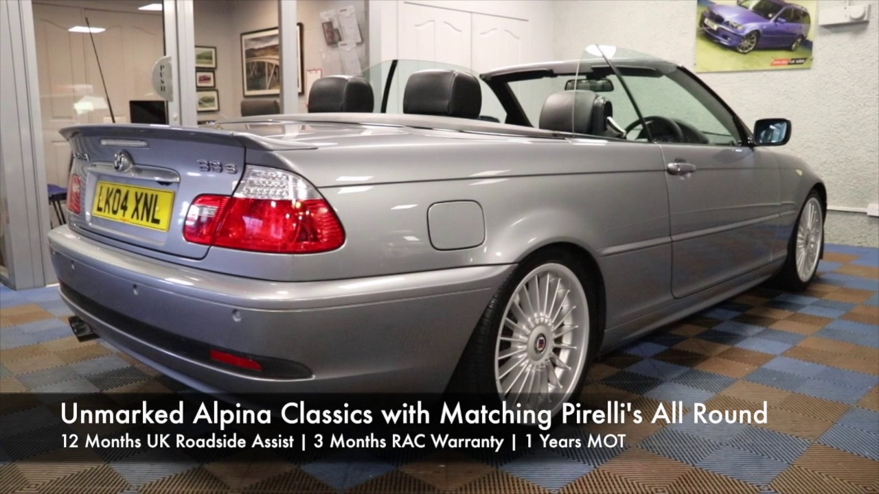 BMW Alpina B S Cabrio For Sale James Glen Car Sales YouTube - Alpina bmw for sale