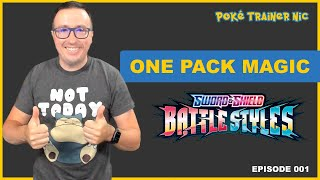 Pokémon Sword & Shield Battle Styles One Pack Magic or Not, Episode 01 #Shorts