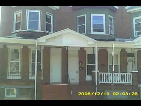 TUPAC SHAKUR'S HOUSE (CLOSE-UP) BALTIMORE MARYLAND SEPTEMBER 2013