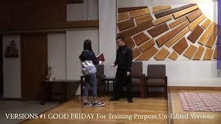 Versions 1 ALTAR SERVERS TRAINING FOR GOOD FRIDAY  St Cecilia Catholic Tustin California 2018