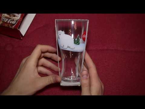 Coca Cola Зустрiчай свято ⁄ Новый год   подарки из акции, новогодние стаканы какие вы