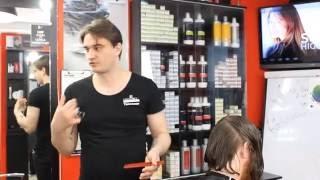 Мужское КАРЕ.Обучение для парикмахеров от Узун Виталия, Одесса.