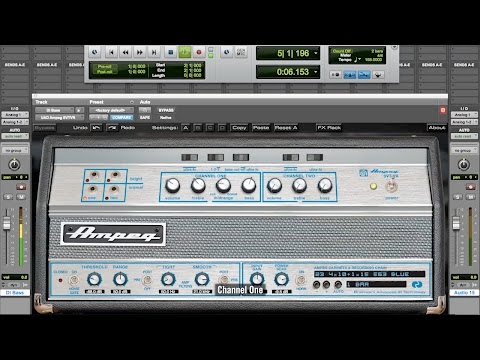 UAD Ampeg SVT Bass Amplifier Plug-In Bundle