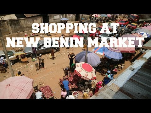 SHOPPING AT NEW BENIN MARKET || BENIN CITY, NIGERIA VLOG