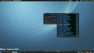 Ubuntu Effects - Audacious OSD mod