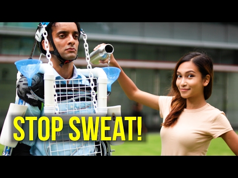 How to STOP SWEATING in Singapore!