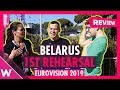 """Download Belarus First Rehearsal: Zena """"Like It"""" @ Eurovision 2019 (reaction) 