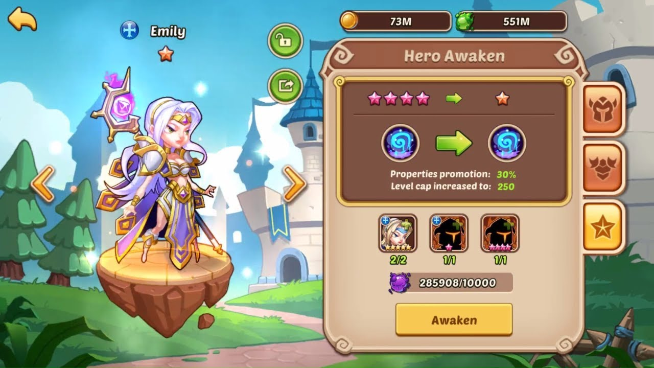 Idle Heroes - Emily 10 Star