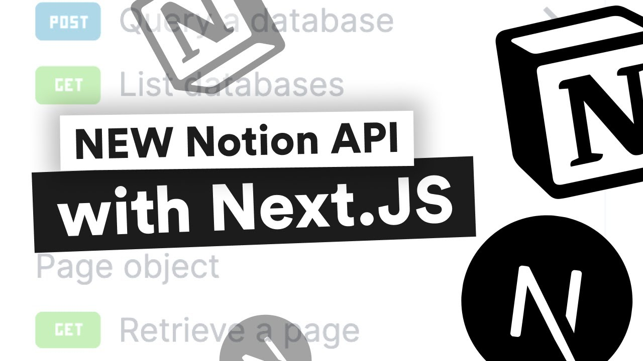 Notion API with Next.js (NEWEST)