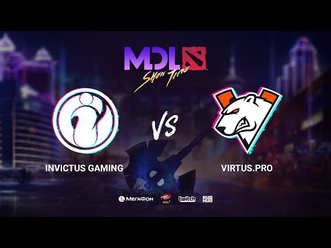 Invictus Gaming vs Virtus.рro, MDL Macau 2019, bo1, [Jam & Lost]