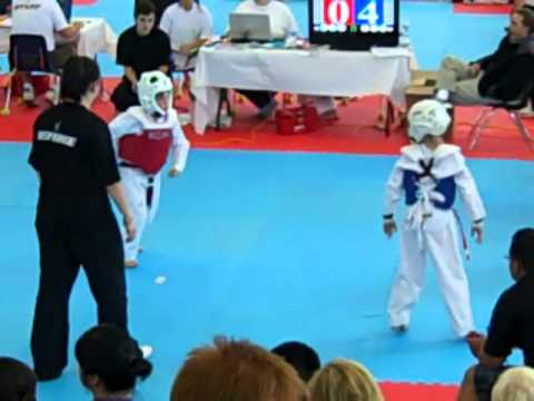 William Burns 2nd fight at Master Shim
