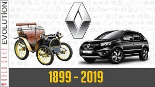 W.C.E - Renault Evolution (1899 - 2019)