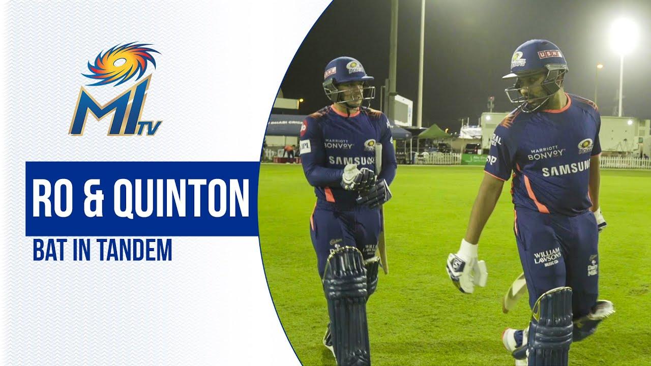 Rohit & QdK BAT in tandem | रोहित और क्विंटन की बल्लेबाज़ी | Dream11 IPL 2020