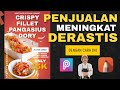Cara membuat poster makanan/pamflet menggunakan hp android