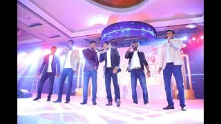 Sri Lanka national cricketers turned singers for one night