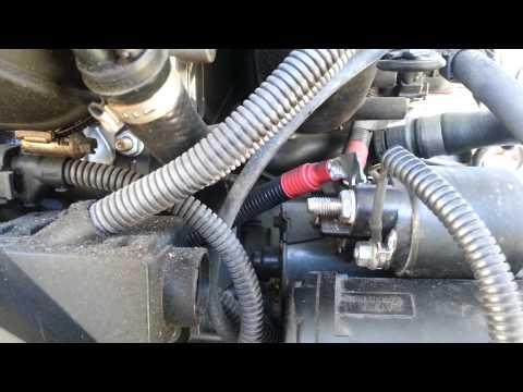 Bmw Removing Intake Manifold Replacing Crankshaft Sensor