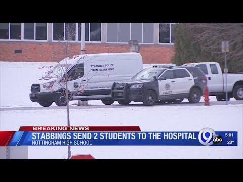 2 teens stabbed at Nottingham High School
