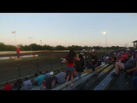 Creek County Speedway 7/20/19 CHAMP Sprint Car Heat 1