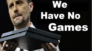"PlayStation Boss Admits PS4 Has No Games.""First Party Games Are Sparse"" PS4 Sword Art Online Coming"