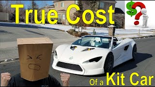 True Cost of a Kit Car - Price Reveal, Kit Car Cost, Electric Supercar Cost