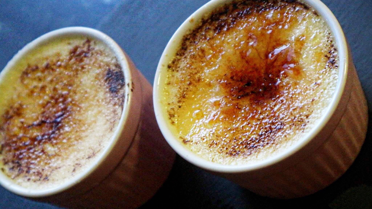 how to make creme brulee video