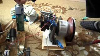 Двигатель из компрессора холодильника2