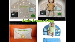 Como fazer um trocador de bebê com porta fraldas e lenço umedecido que vira bolsa