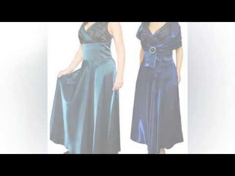 вечерние платья 56