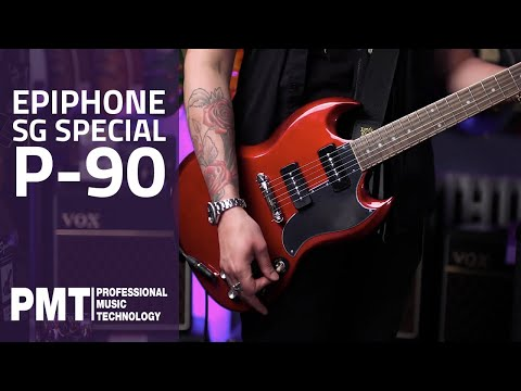 Epiphone SG Special P-90 Sparkling Burgundy - Epiphone Inspired By Gibson 2020