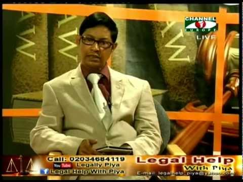 Legal Help with Piya 23 June 2012 part 1